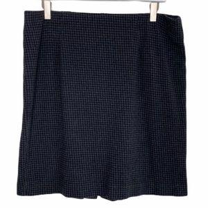 J.Jill ponte pattern pencil skirt size large